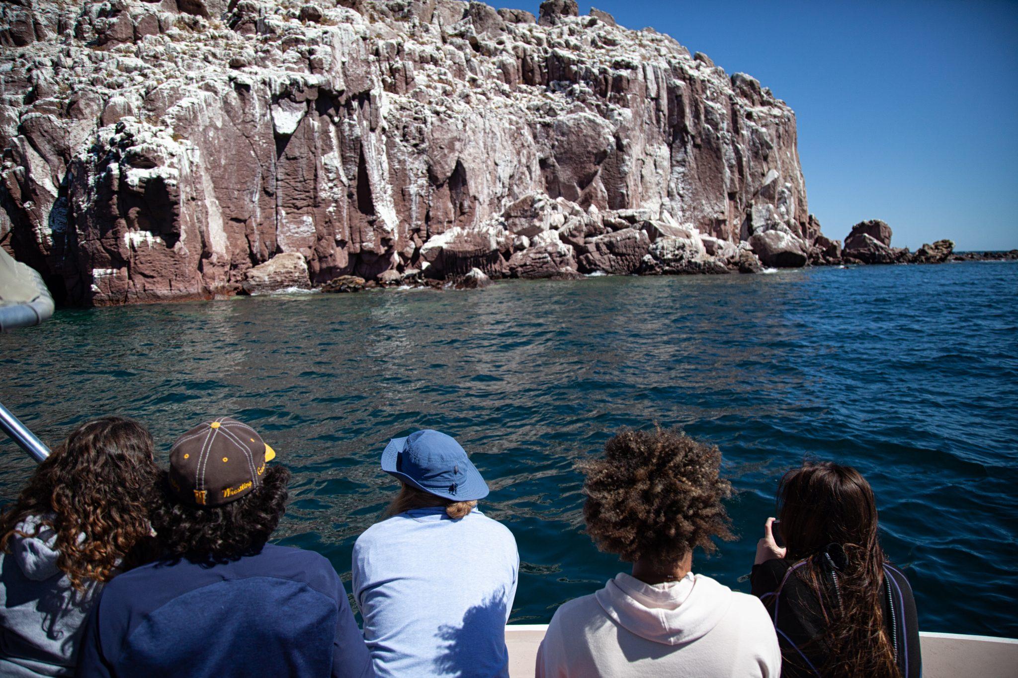 A group from CSU-Pueblo visit Baja California Sur to study ecotourism.
